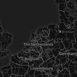 Fond de carte MapBox dark